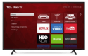 "Refurb TCL 55"" 4K LED UHD Roku Smart TV for $330 + pickup at Walmart"
