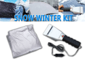 Zone Tech Auto Snow Winter Kit for $23 + free shipping
