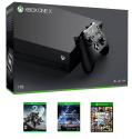 Microsoft Xbox One X 1TB Console w/ 3 Games for $499 + free shipping