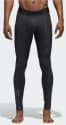 adidas Men's Alphaskin Sport Long Tights for $15 + free shipping