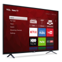 "Refurb TCL 55"" 4K LED UHD Roku Smart TV for $310 + pickup at Walmart"